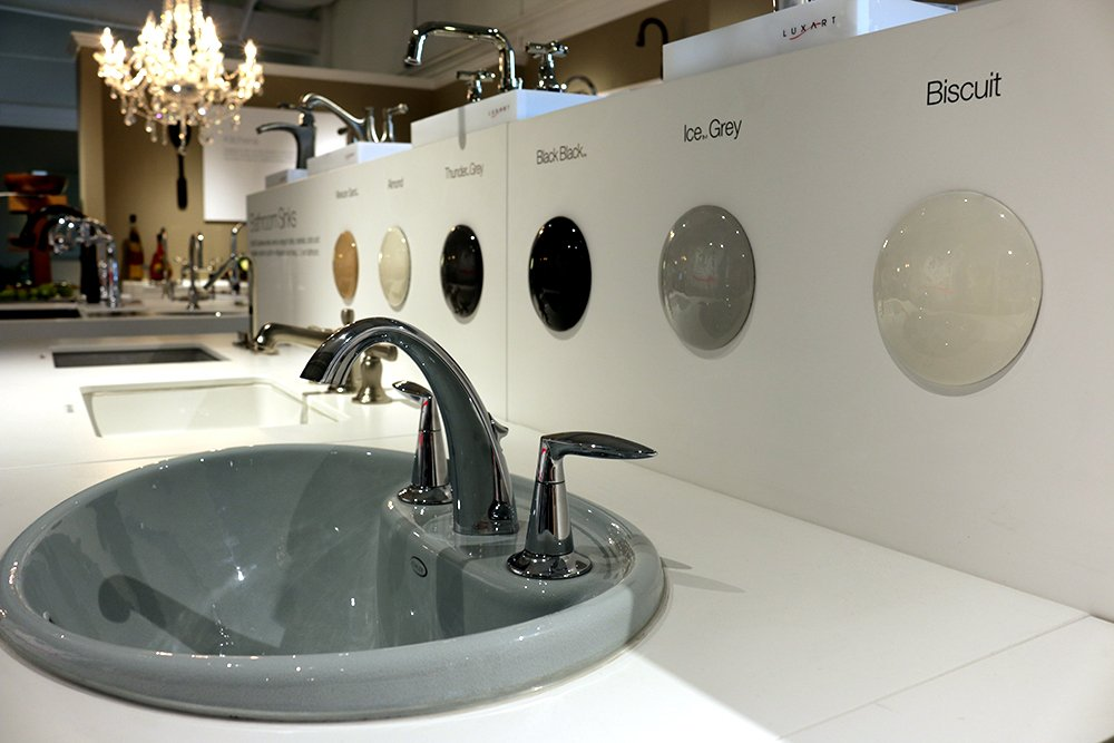 Apex Supply Has Hundreds Of Products On Display In The Marietta Georgia Kohler Premier Showroom